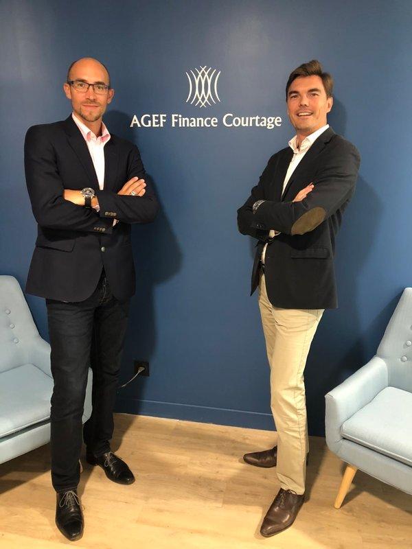 Emmanuel Fratini et Arnaux Guilleux